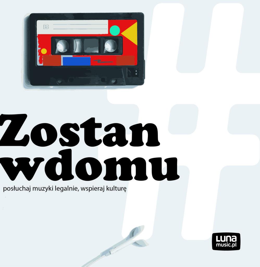Zostań w domu – słuchaj muzyki legalnie wspieraj kulturę
