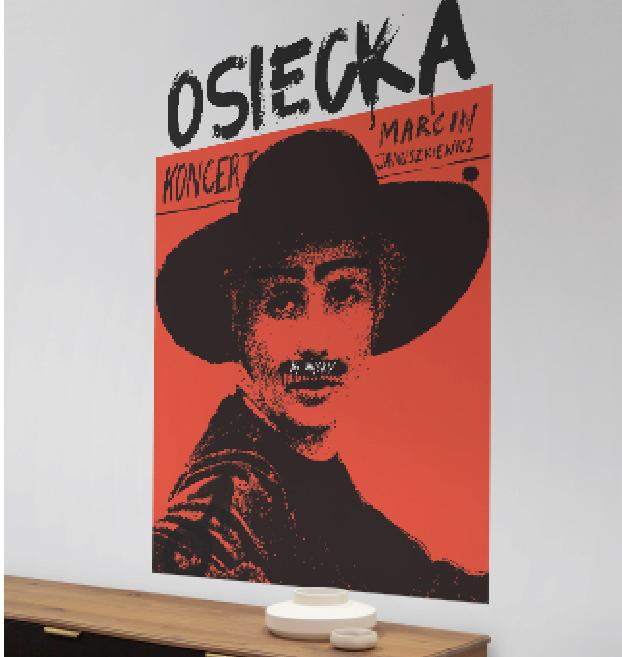 Plakaty Marcina Januszkiewicza zaprojektowane przez Igora Kubika już do kupienia